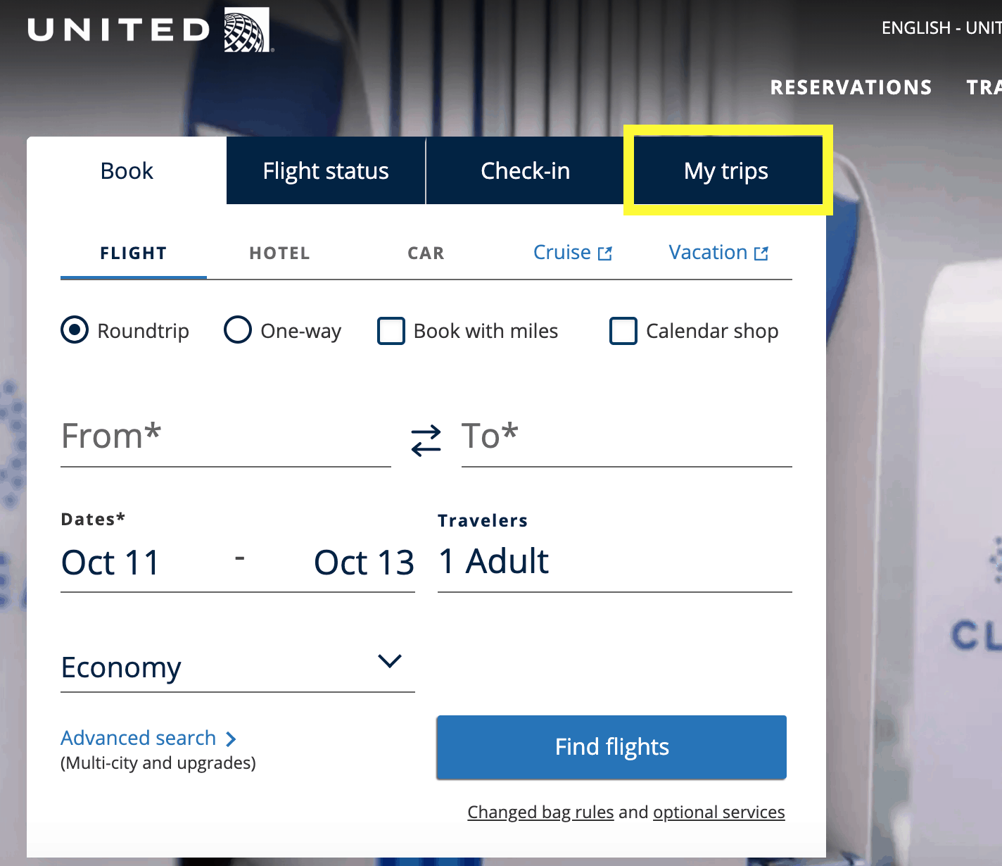 United Airlines Return Policy