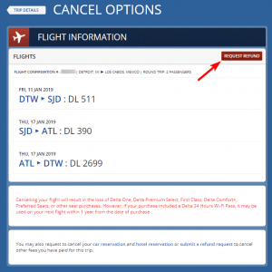 Delta Airlines Return Policy