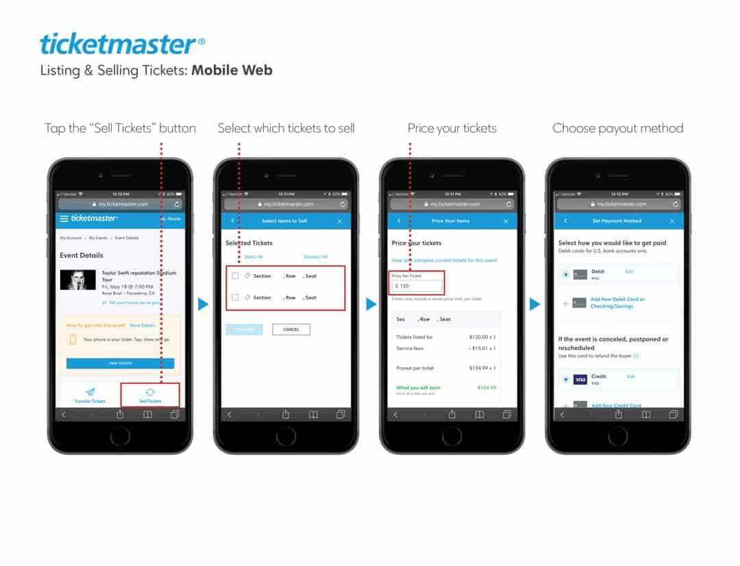 Ticketmaster Return Policy